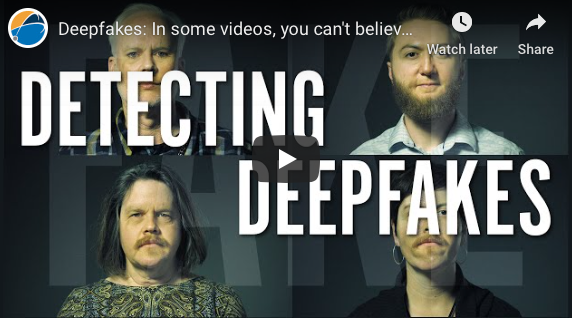 Phoenix: Deepfakes: In some videos, you can't believe your eyes